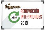 Renovación interinidades y Petición de destinos 2019-20 (Plazo: Del 6 al 19 junio)