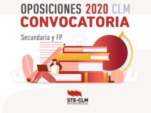 CONVOCATORIA OPOSICIONES CLM 2020: Hasta 9 marzo