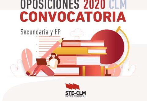 OPOSICIONES CLM 2020: Convocatoria de Oposiciones EEMM (Solicitudes: Hasta 9 marzo)