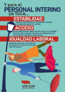 INTERINOS/AS: Estabilidad, Acceso e Igualdad laboral
